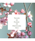 Última plaza!!.Curso de Flores de Almedro en Porcelana 19 de octubre