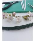 Curso de Flores de Almedro en Porcelana 19 de octubre