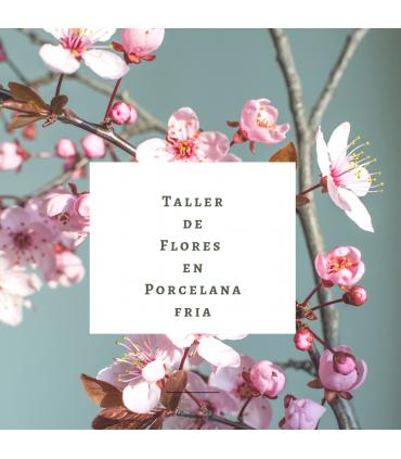 Curso de Flores de Porcelana fría 8 de febrero