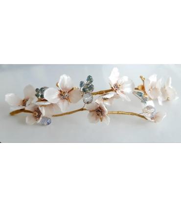 ÚLTIMAS PLAZAS!! Curso online de Flores Joya preservadas tratamiento Nacar 27 y 28 de noviembre
