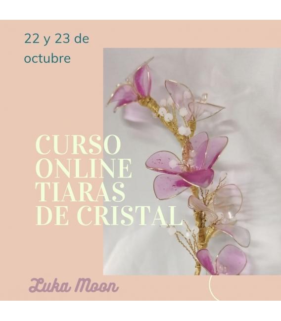 Curso online de Tiaras en cristal 22 y 23 de octubre